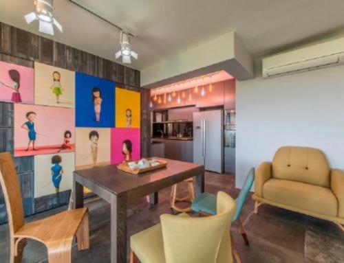 5 Langkah Desain Interior Jika Anda Ingin Menjadi Edgy Tapi Penuh Warna